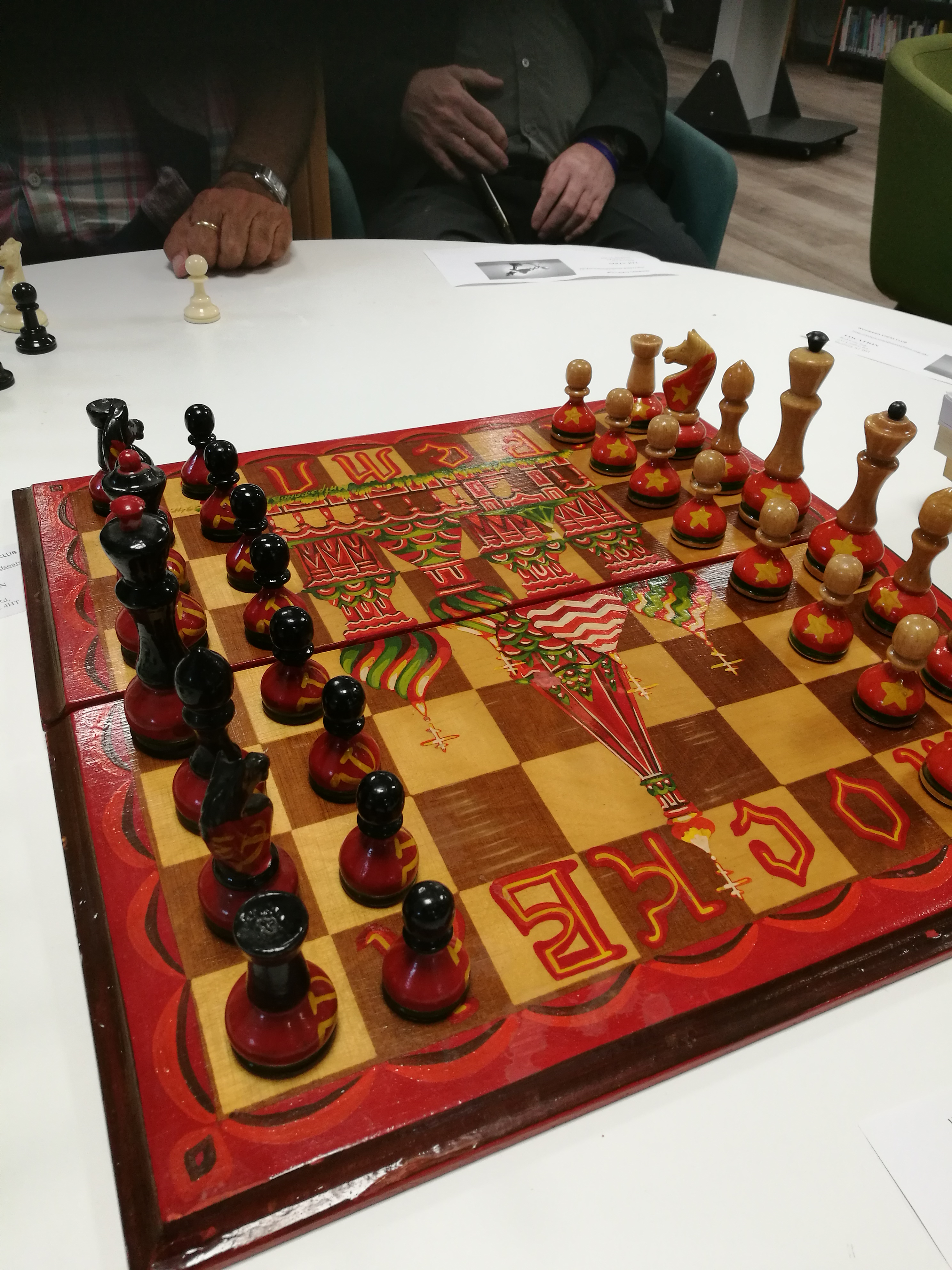 Woodseats Library-the new centre for Sheffield Chess
