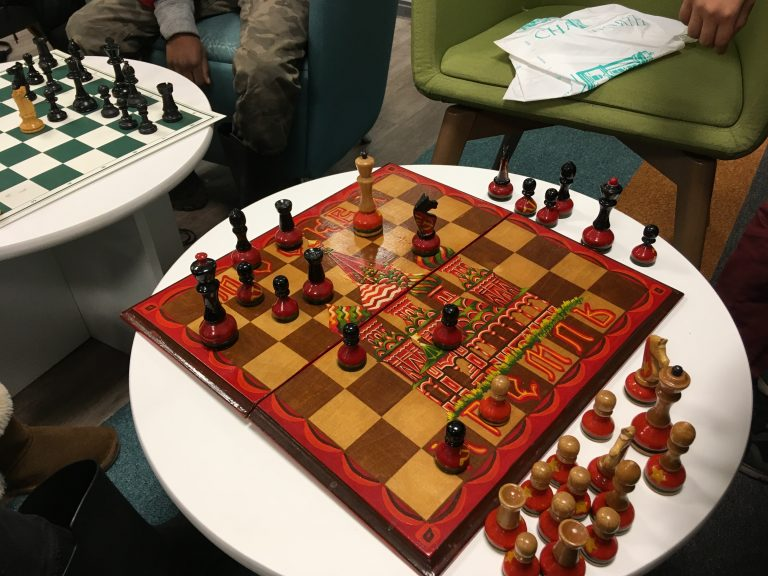 Read more about the article Chess at Woodseats Library